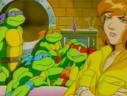 Tmnt Anime Turtles and April