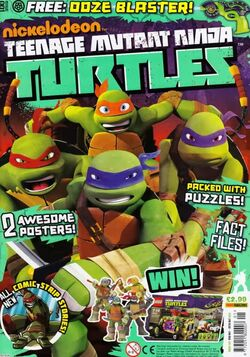 Teenage Mutant Ninja Turtles magazine  TMNTPedia  FANDOM