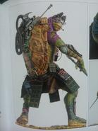 Donatello full body art