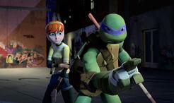 TMNT-2012-Donatello-and-April-0145