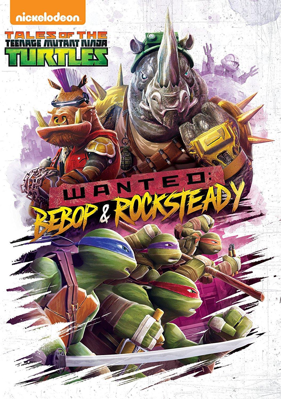 Wanted Bebop Rocksteady Home Media Release Tmntpedia Fandom