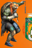 Michelangelo promotional drink artwork