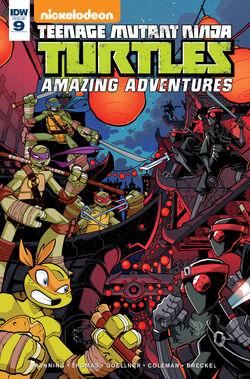Amazing Adventures 009