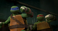 Leo and Raph smiling