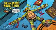 Zine-Age Mutant Ninja Turtle