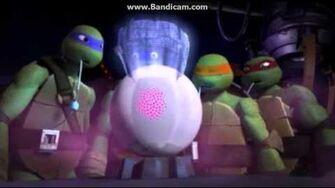 """Official TMNT Into Dimension X """"Help For Leatherhead"""" Clip"""