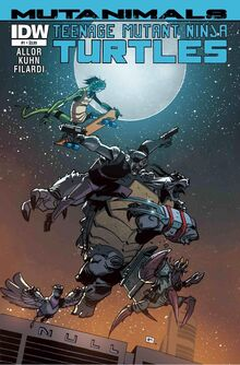 TMNT- Mutanimals -1 Regular Cover by Andy Kuhn