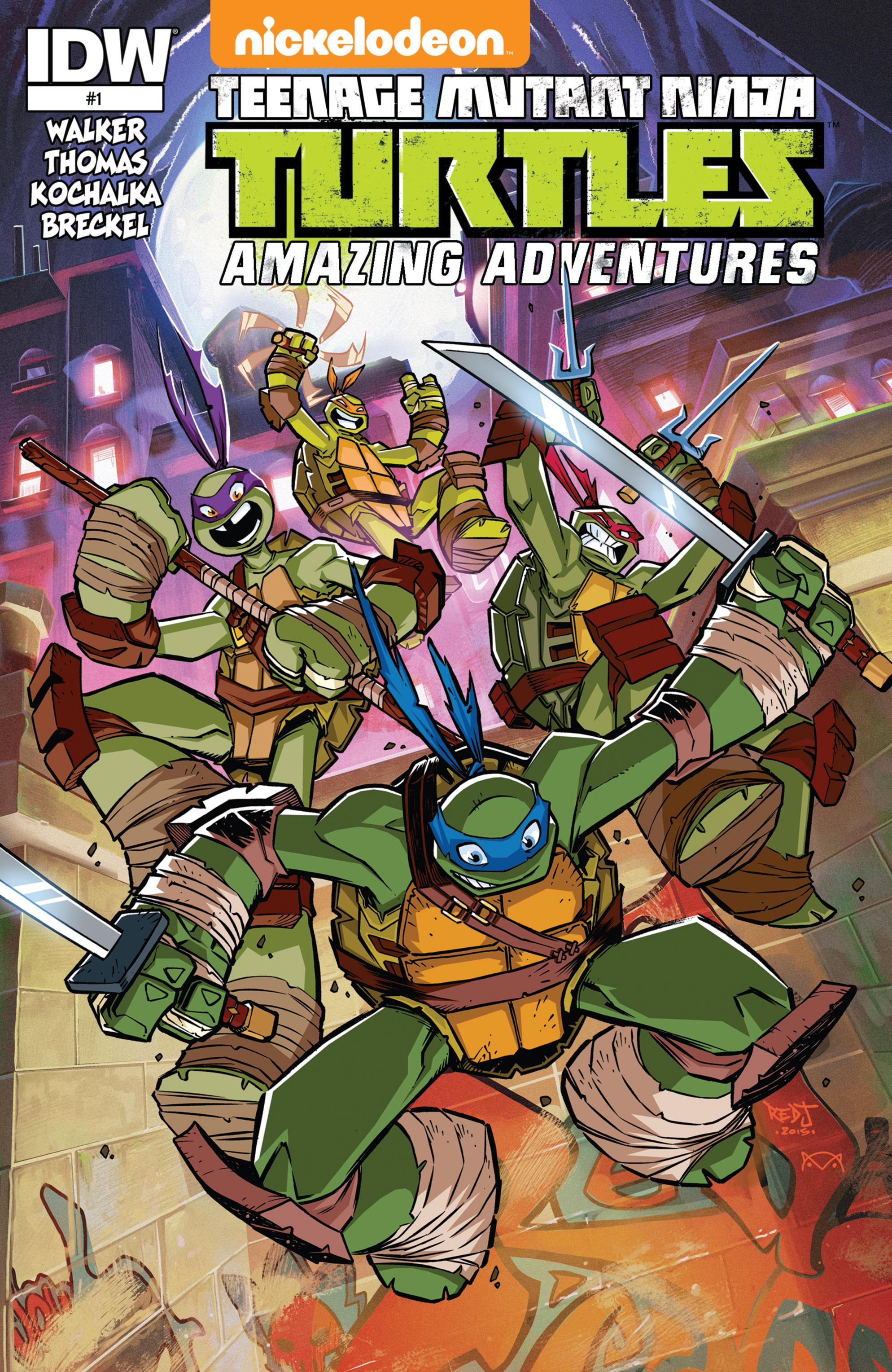Teenage Mutant Ninja Turtles Amazing Adventures