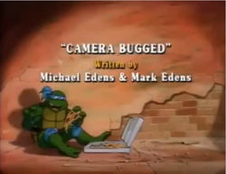 Camera Bugged Title Card
