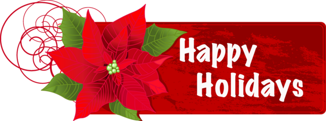 FileHappy Holidays Flower Banner