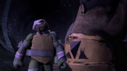 Raph talking with Zog