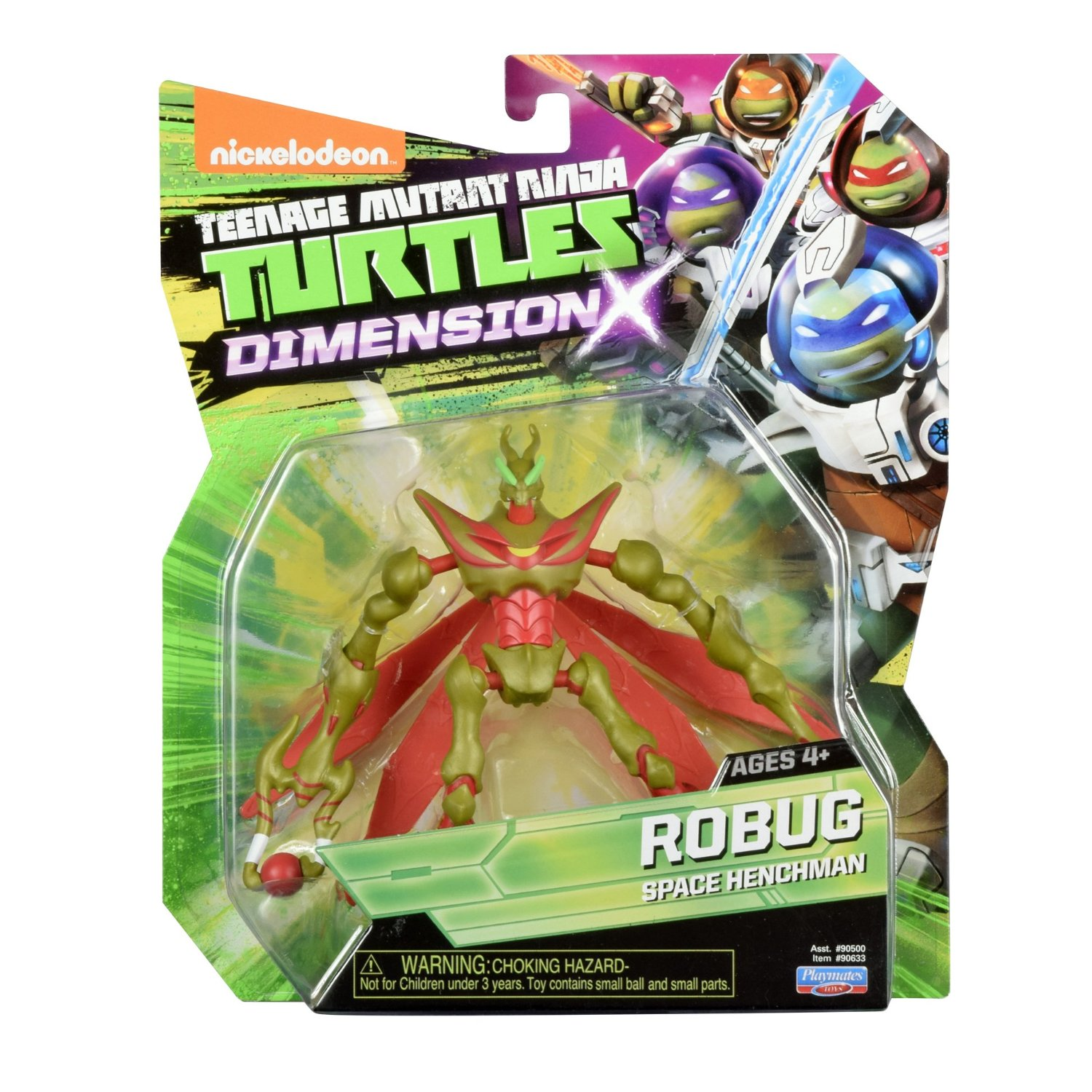 Teenage Mutant Ninja Turtles 2012 Neuralizer Toy : Robug action figure tmnt wiki fandom powered by wikia