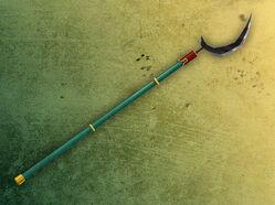 Gear-scythe