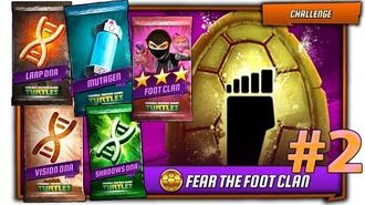 MEGA OPEN Part 2! Fear the FOOT CLAN Challenge. Evolve Bebop & Rocksteady (Movie) TMNT Legends