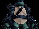 Leonardo's Dark Suit