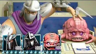 Teenage Mutant Ninja Turtles Legends - NINJA TURTLES VS SHREDDER & KRANG TEAM TMNT