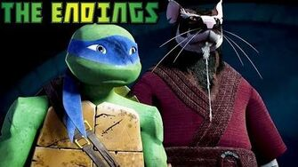 TMNT 2012 Season 1 The Ending of Episodes