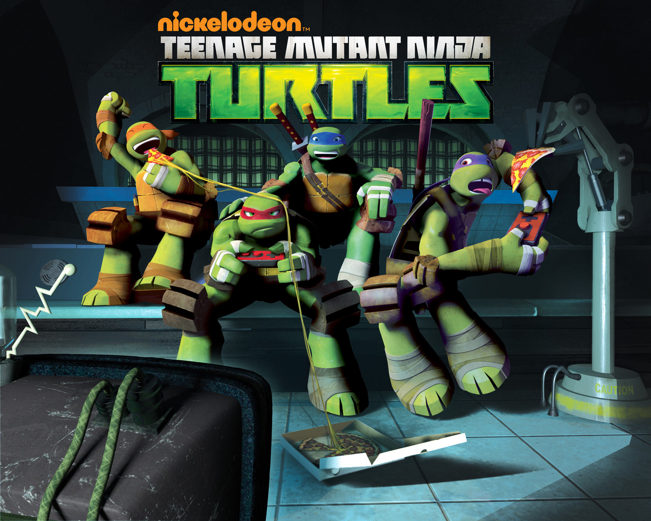 Teenage Mutant Ninja Turtles 2012 Neuralizer Toy : Teenage mutant ninja turtles tv series tmnt wiki
