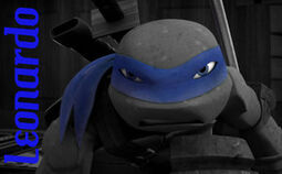 Tmnt leo blue mask