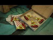 Old Underwear Pizza
