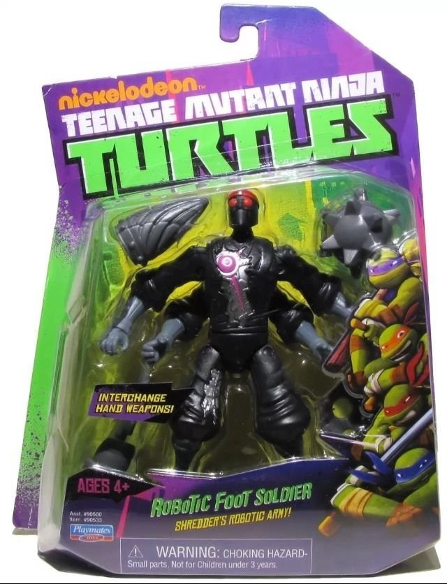 Teenage Mutant Ninja Turtles 2012 Neuralizer Toy : Robotic foot soldier action figure tmnt wiki fandom