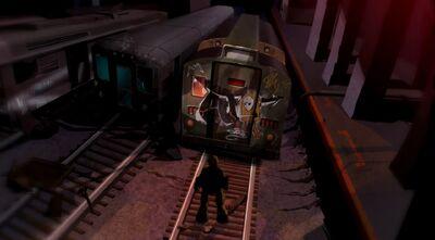 Subway cars