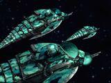 Salamandrian Ship