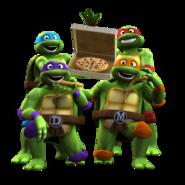 Tortugas ninja del 80