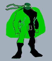 Raphael as Green Laser II