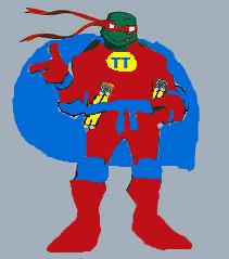 Michelangelo as Turtle Titan II
