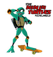 Ninja turtles mikey