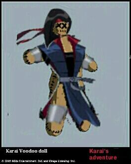 Karai Voodoo doll