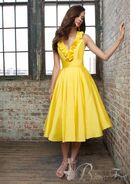http://www.weddingdressonlinesale.co.uk/2037-4329/taffeta-v-neck-a-line-yellow-bridesmaid-dress-uk2037