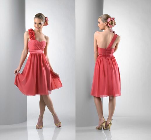 File:New-Style-DB121-Flowers-One-Strap-Knee-Length-Chiffon-Coral-Bridesmaid-Dresses.jpg