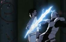 Sable de Sasuke