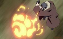 Fire Release Phoenix Sage Flower Nail-animeipics