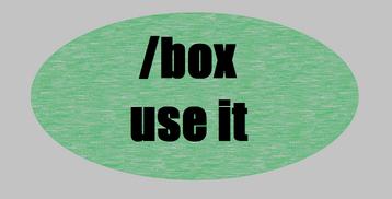 Box command