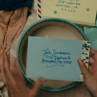 Josh's envelope