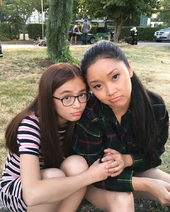 Kitty and Lara Jean 1
