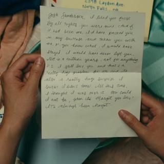 Josh's letter