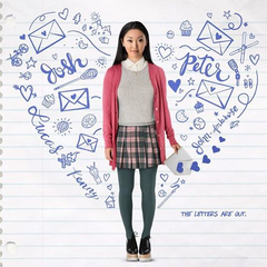 Lara Jean on the Movie Poster