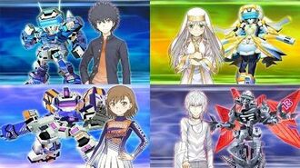 Super Robot Taisen X-Ω - A Certain Magical Virtual-On Debut (Get Ready! BGM)