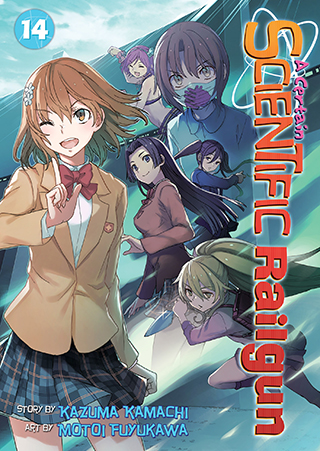 A Certain Scientific Railgun Manga v14 cover