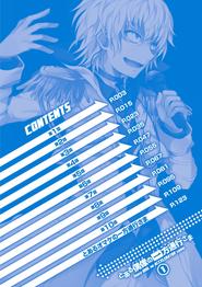 Toaru Idol no Accelerator-sama Manga v01 Table of Contents