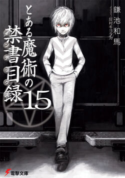 Toaru Majutsu no Index Light Novel v15 cover