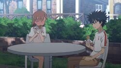 Touma and Mikoto