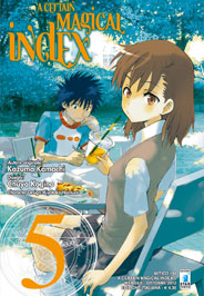 A Certain Magical Index Manga v05 Italian cover