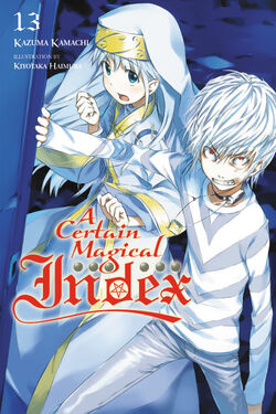 A Certain Magical Index Light Novel v13 cover