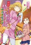 Souyaku Toaru Majutsu no Index Light Novel v02 cover