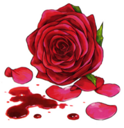 Anna Sprengel's rose and blood